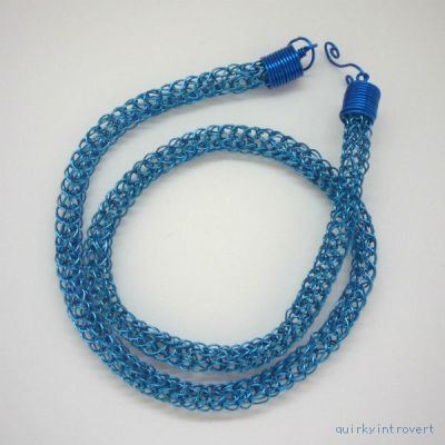 Viking knit necklace